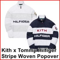 Kith x Tommy Hilfiger Stripe Woven Popover Navy/White SS 19