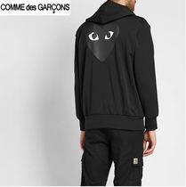 ★COMME DES GARCONS PLAY★ハート バックプリント フ―ディー