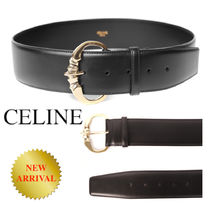 CELINE Medium Belt with Camarat Buckle in Vegetal Calfskin