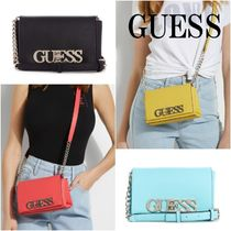 GUESS*Uptown Chic mini クロスボディ*ロゴ付き*2WAY♪