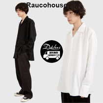 Raucohouse OPEN WIDE COLLAR SHIRTS SW441 追跡付