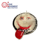 A LOVE MOVEMENT Rabbit fur Likers Patch ファー パッチ