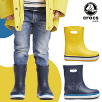 ★CROCS★ 205827 Crocband Rain Boot Kids 夏 レインブーツ