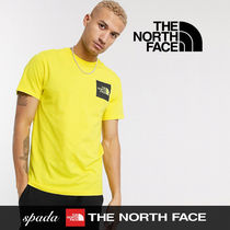 SALE【NORTH FACE】半袖 ロゴ Tシャツ イエロー / 送料無料