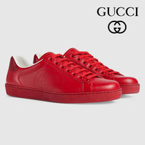 関税負担なし☆GUCCI グッチ Ace sneaker with Interlocking G