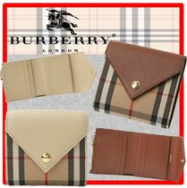 ☆送料・関税込☆BURBERRY☆Lila Vintage Check leather wallet