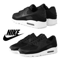 NIKE ナイキ AIR MAX 90 PATENT SWOOSH W / Black / 送料込