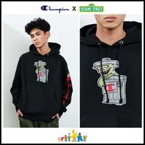 コラボ! ☆Champion x Sesame Street☆ Oscar The Grouch Hoodie