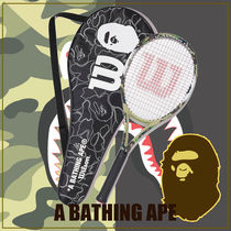 A BATHING APE★テニス★BAPE x Wilson Tennis Racket Green