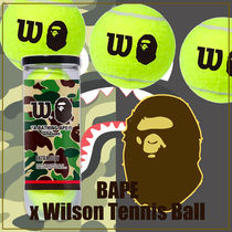 A BATHING APE★テニス★BAPE x Wilson Tennis Ball Yellow