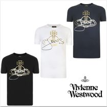 【Vivienne Westwood】 Gold Orb プリント Tシャツ