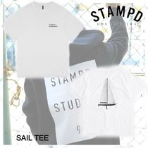 NEW!! お早めに!STAMPD SAIL TEE-WHITE
