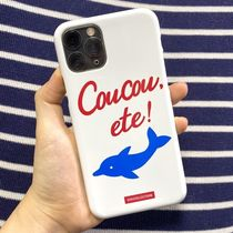 【O!Oi 20SS】DOLPHIN PHONE CASE_white iPhone ケース