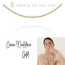 【TEMPLE OF THE SUN】Cassi Necklace Gold ゴールドネックレス