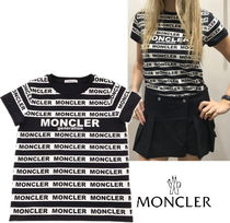 20SS☆MONCLER ボーダーロゴTシャツ 12/14A大人もOK♪【関税込】