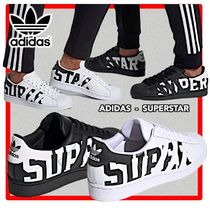 ★人気★Adidas★SUPERSTAR★ロゴ★22-29cm★兼用★2色★