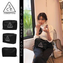 【3CE】 BIG SQUARE POUCH/ビッグ スクエア ポーチ [追跡可能]