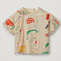 "COS(コス) キッズ用トップス ""COS KIDS""  PRINTED COTTON TOP MULTICOLORED"