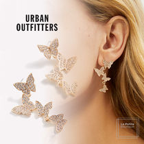 【Urban Outfitters】スタッズ☆揺れる・エレガント蝶々ピアス