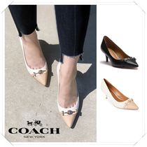 Coach★Lauri Silky Matte Pointed Toe パンプス