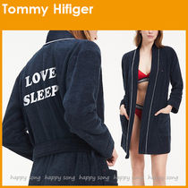 Tommy Hilfiger◆TOMMYロゴ ショートバスローブ