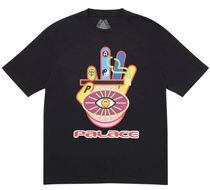 Palace Skateboards(パレススケートボーズ) Tシャツ・カットソー Palace Hippy Cig T-Shirt Black ss 20 2020