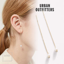 【Urban Outfitters】エレガント☆パール・チェーンピアス