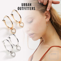 【Urban Outfitters】エレガント☆ミニハートフープピアス〇各色