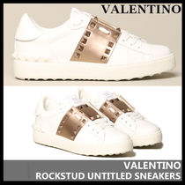【VALENTINO】ROCKSTUD UNTITLED SNEAKERS 0A01 HEL