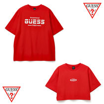 ★Guess★UNISEX★REFLECTIVE ACTIVE ロゴTシャツ★追跡可