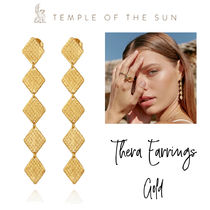 【TEMPLE OF THE SUN】Thera Earrings Gold ゴールド ピアス