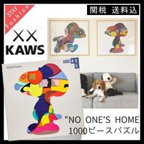 """STAY Home"" (お家時間) KAWS ""No One's Home"" ジグソーパズル"