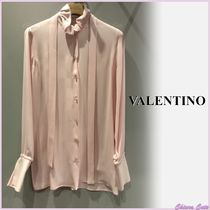 【SALE】VALENTINO_women / LONG-SLEEVE FITTED SHIRT / シャツ