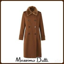 MassimoDutti♪TRENCH COAT WITH MOUTON COLLAR