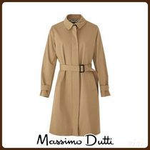 MassimoDutti♪TECHNICAL TRENCH COAT WITH QUILTED INTERIOR