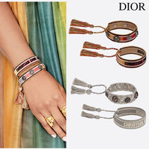 J'ADIOR DIOR ANTIQUE PALLADIUM-FINISH CHARM BRACELET SET