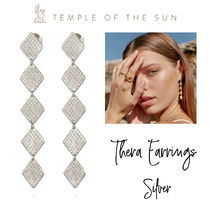 【TEMPLE OF THE SUN】Thera Earrings Silver ピアス シルバー