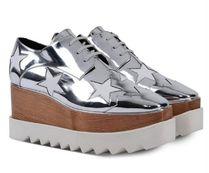 Stella McCartney★ELYSE STARS shoes silver (37/39size)