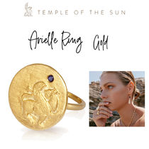 【TEMPLE OF THE SUN】Arielle Ring Gold リング ゴールド