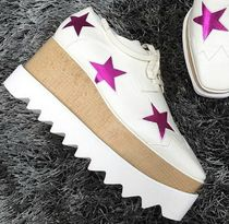 Stella McCartney★ELYSE STARS shoes white (35.5/36.5size)