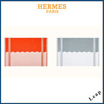 【HERMES】Yachting Wave beach towel, small model☆