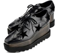 Stella McCartney★ELYSE STARS shoes black (36/38size)