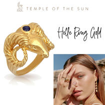 【TEMPLE OF THE SUN】Helle Ring Gold リング ゴールド