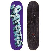 8.125【在庫あり】 Supreme 20SS Chrome Logo Skateboard DECK