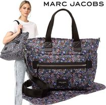 MARC JACOBS ペイズリー柄 マザーズバッグ オムツ替えシート付♪