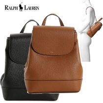 特価 ! Ralph Lauren Calderwood レザー Mini Backpack リュック