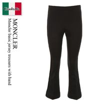 Moncler basic jersey trousers with band
