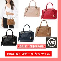 ◆MK◆Maxine Small Pebbled Leather Satchel