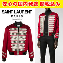 関税送料込国内発送SAINTLAURENT★Bomber Officer