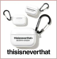 [thisisneverthat] T-Logo AirPods Pro Case Clear ★大人気★
